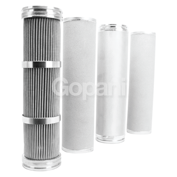 Metallic Sintered Cartridge Filters