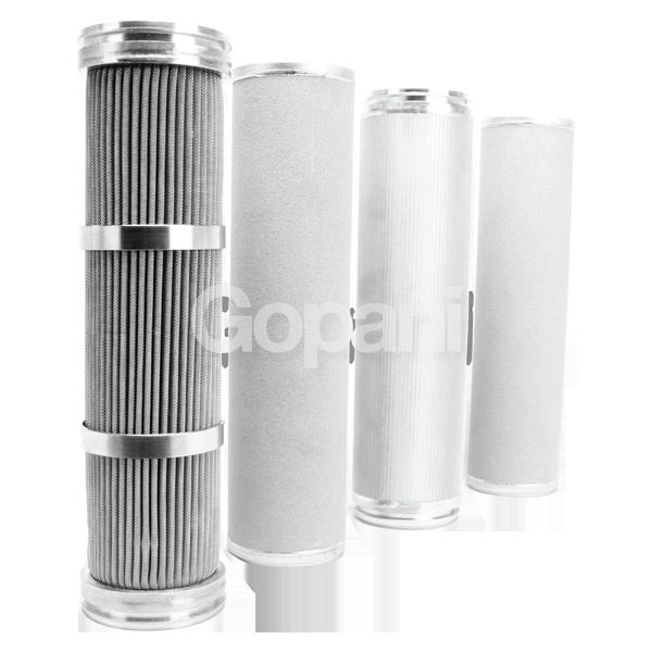 Metallic Sintered Cartridge Filters
