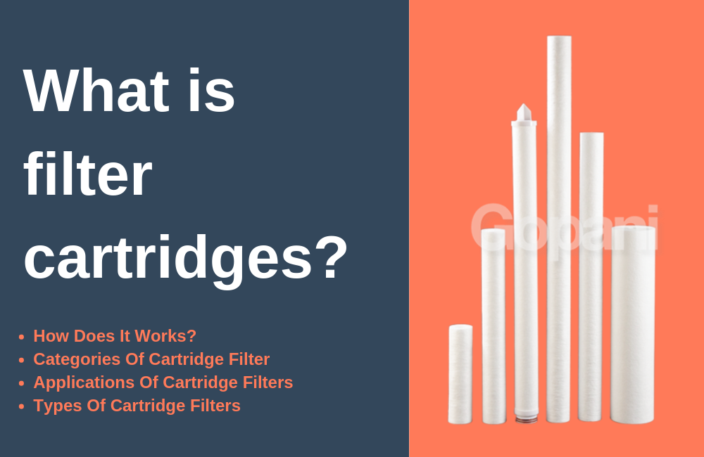 What is filter cartridges?