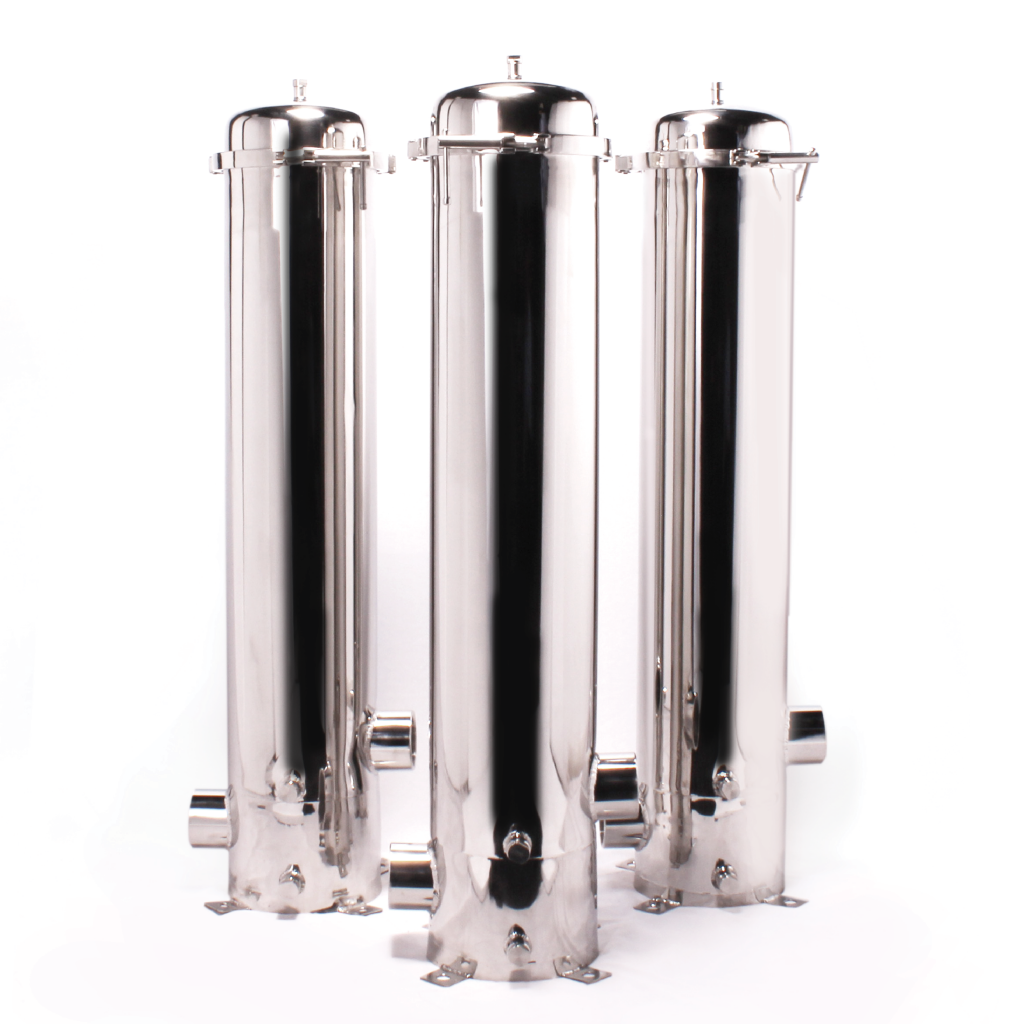 Clary-T Industrial SS (stainless steel) filter housings Dubai